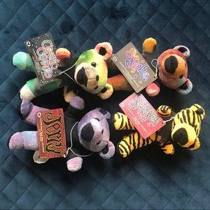 Grateful Dead Bears lot of 4